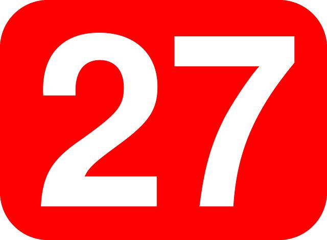 エンジェルナンバー27の意味