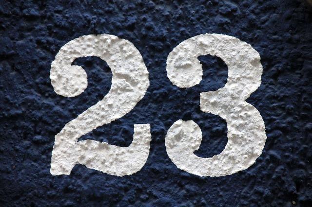 エンジェルナンバー23を見かけるとき