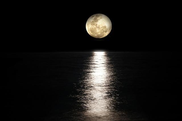 15日頃の月の名前「満月」