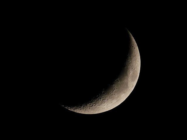 3日頃の月の名前「三日月」