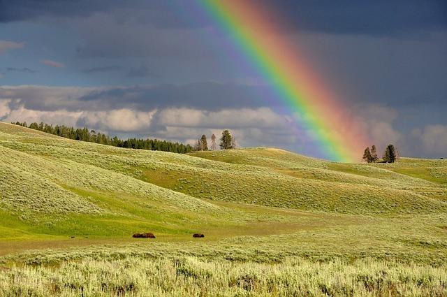 虹の読み方は当て字を含めると多数ある!