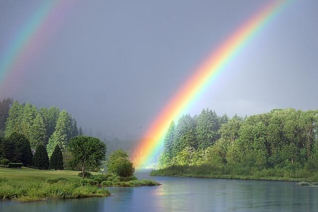 虹色ってどんな色?