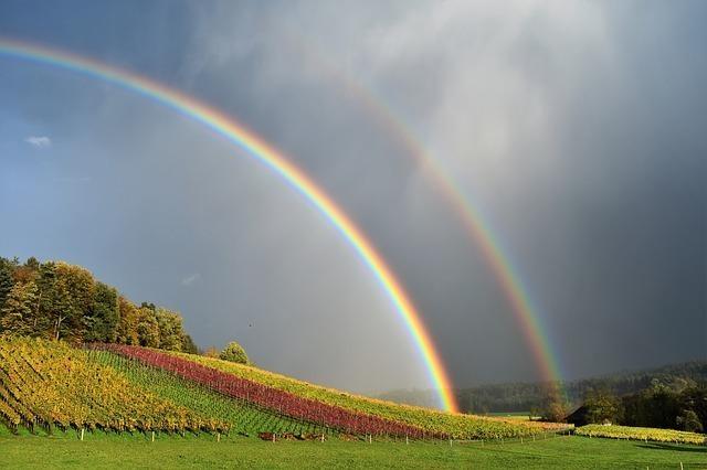 二重虹(ダブルレインボー)とは