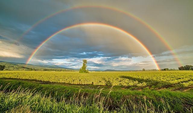二重虹の幸運の言い伝え5選