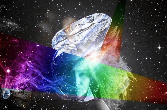 ダイヤと虹のかかる宇宙