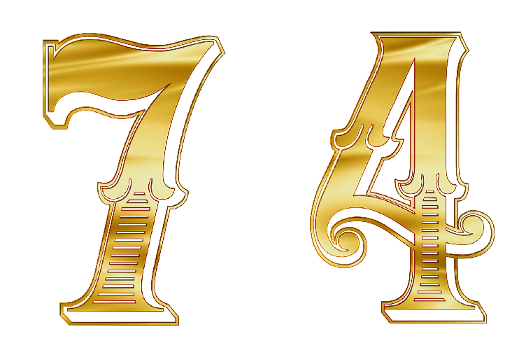 エンジェルナンバー74は7と4の意味をあわせ持つ