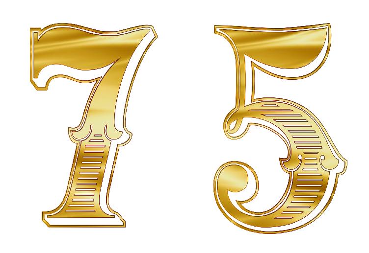 エンジェルナンバー75は7と5の意味をあわせ持つ