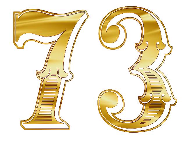 エンジェルナンバー73は7と3の意味をあわせ持つ