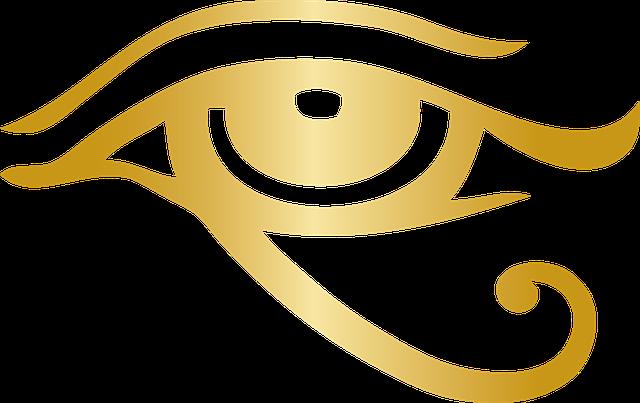 エジプト神話のシンボル「ホルスの目」