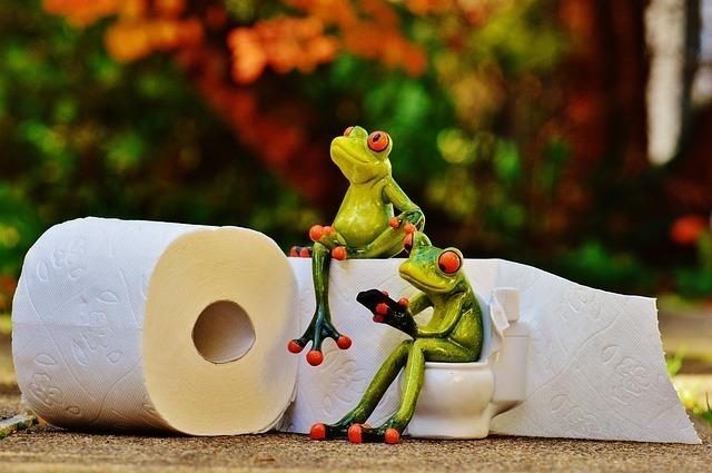 湯文字腰巻でのトイレ方法は?