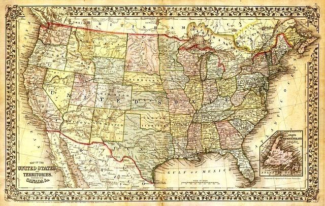 アメリカの州の数の違い