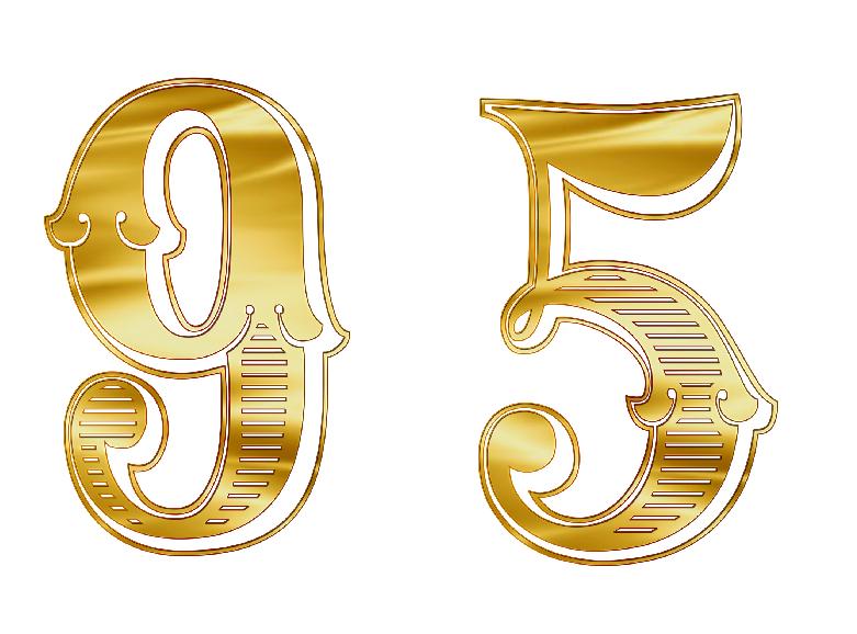 エンジェルナンバー95は9と5の意味をあわせ持つ