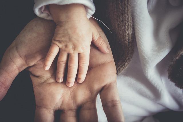 手にあるバースマーク