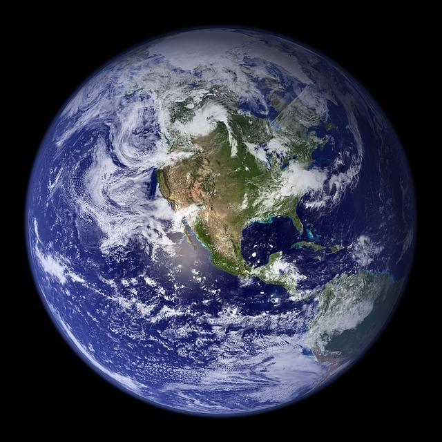 地球の大きさはどのくらい?【直径・質量・面積】