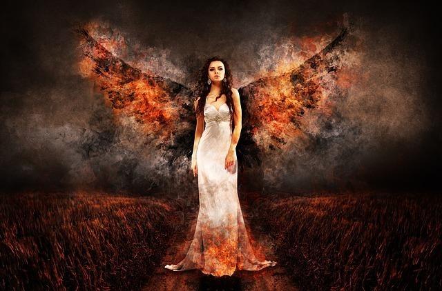 天使や妖精と交流が可能