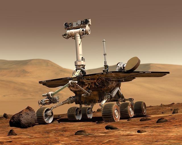 火星探査ロボット