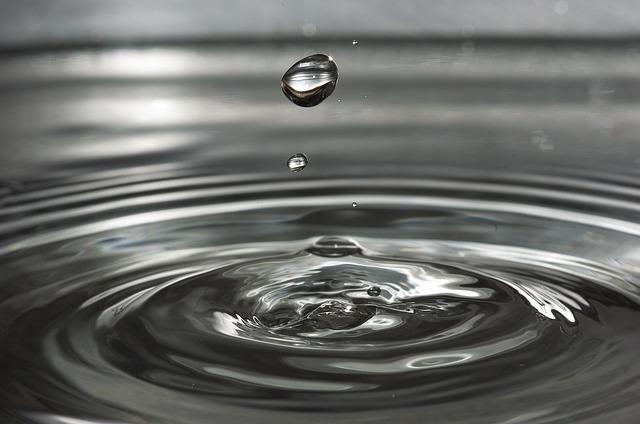 きれいな水滴