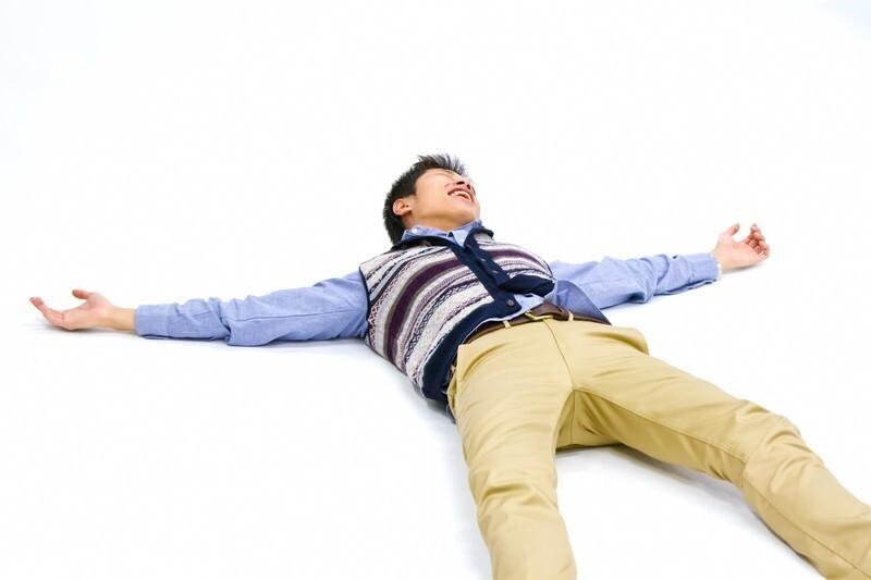 横になって測る方法