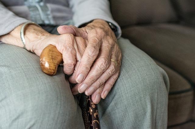 おばあちゃんと会話