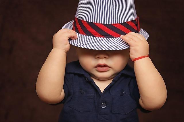 男の子の赤ちゃんが登場する場合