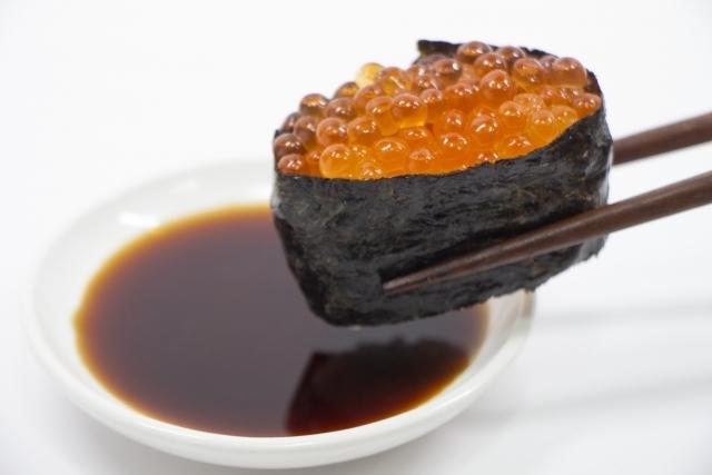 ネタが「いくら」の寿司の夢