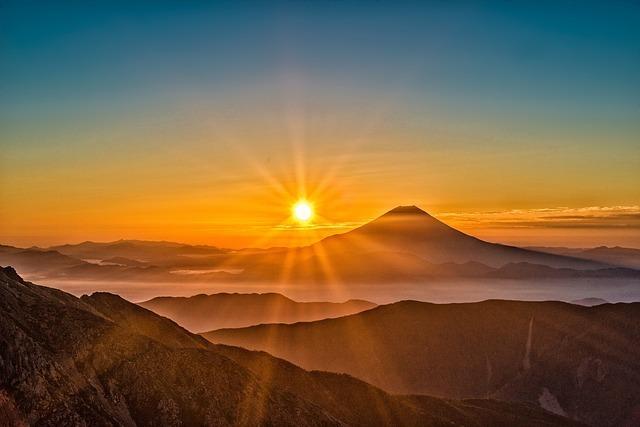 初夢で富士山の夢を見たときは吉夢?