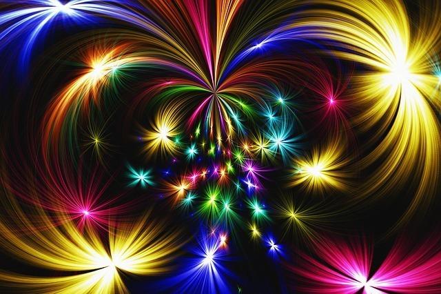 花火の綺麗さが印象的な夢