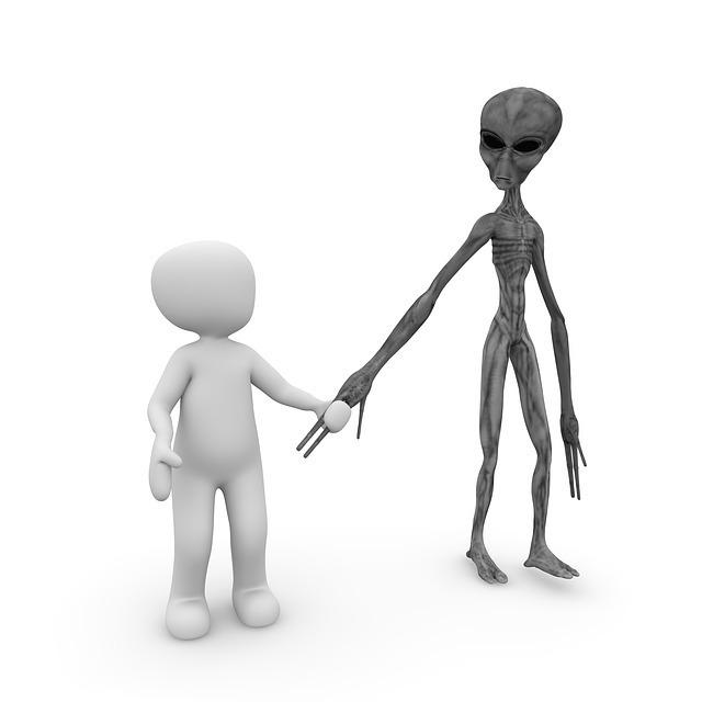 UFOと宇宙人が出てくる夢