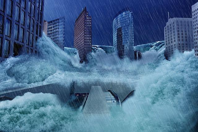 【夢占い】大洪水の夢