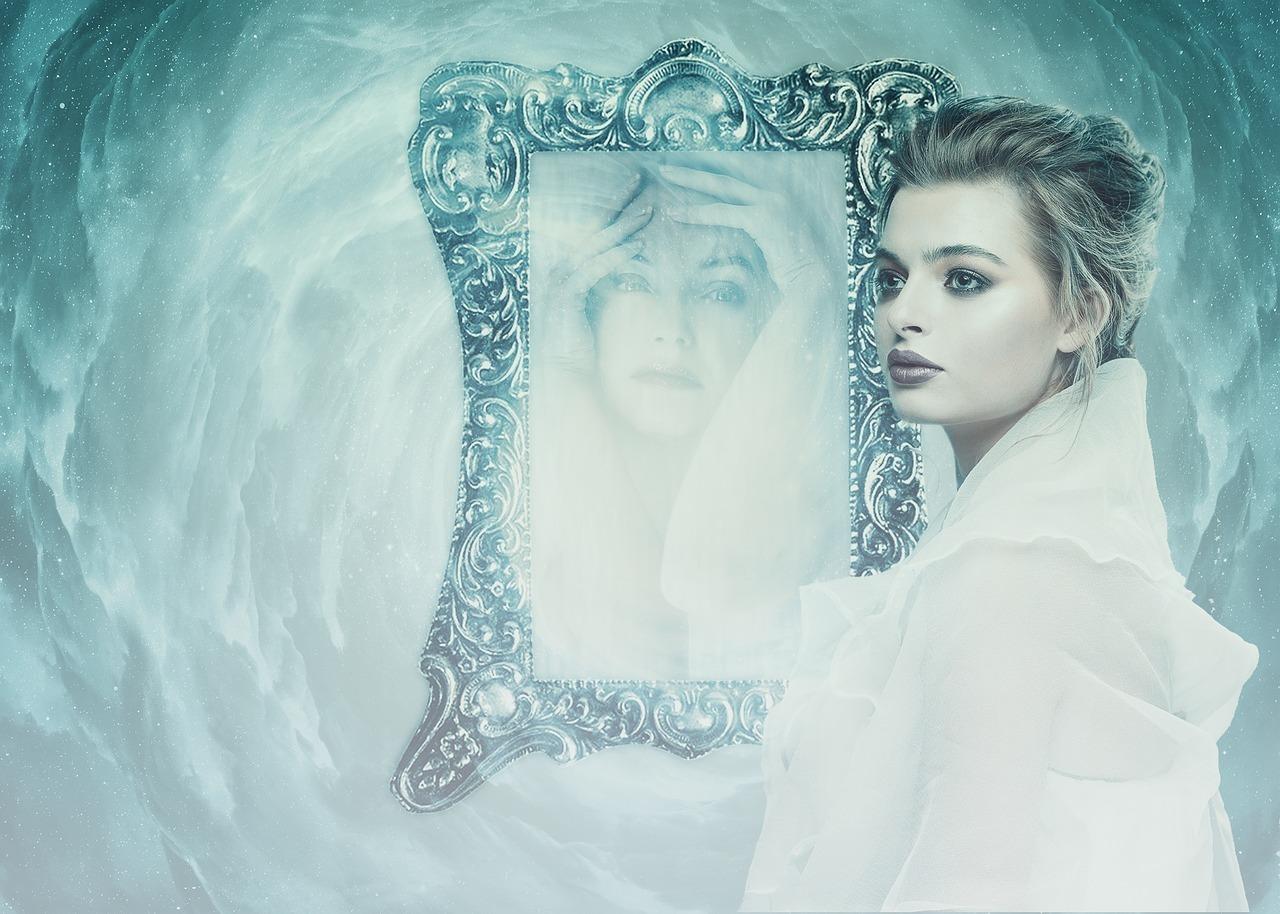 鏡の夢,醜い自分