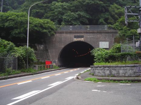 犬鳴峠の写真(犬鳴トンネル)