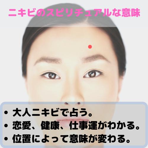 ニキビ 右 意味 頬
