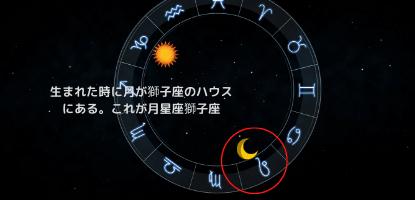 月星座獅子座のホロスコープ