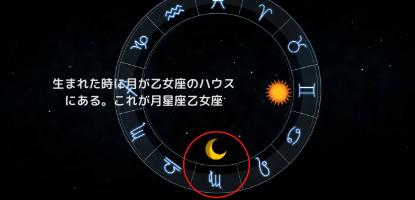 月星座乙女座のホロスコープ