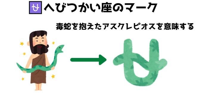 蛇使い座のマークの由来