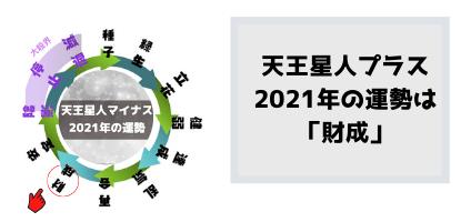 天王星人プラスの2021年の運勢