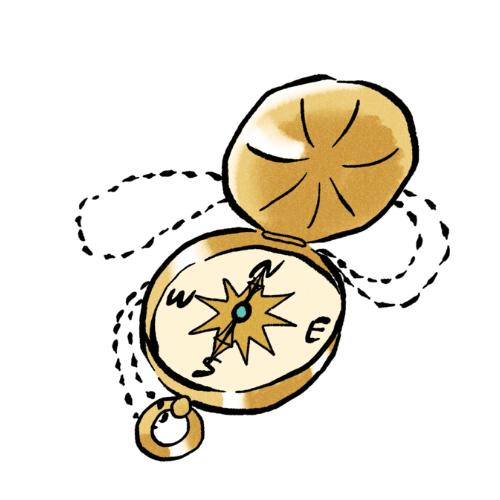 金の羅針盤座