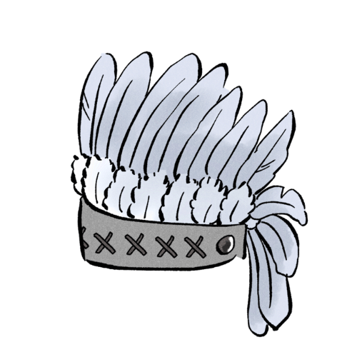 銀のインディアン座