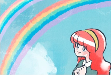 二重の虹・ダブルレインボー