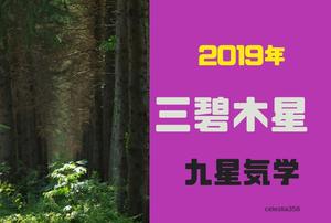 【2019年】三碧木星の年運・月運を解説します