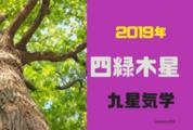 【2019年】四緑木星の年運・月運を解説します