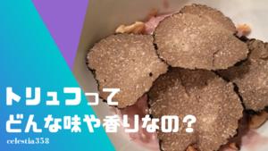 トリュフってどんな味や香りなの?たとえると何に似てる?