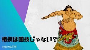 相撲は国技ではない?日本の国技とは何なのか?