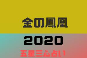 【2020年】金の鳳凰の年運・月運を五星三心占いで徹底解説