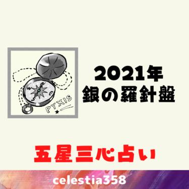 【2021年五星三心占い】銀の羅針盤座の年運・月運を解説します