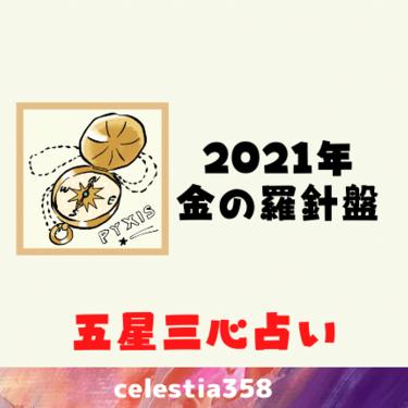 【2021年五星三心占い】金の羅針盤座の年運・月運を解説します