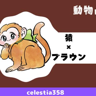 【動物占い】猿(ブラウン)の性格や相性について解説します!