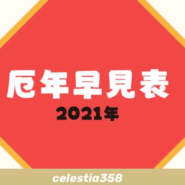 【2021年】厄年早見表|男女別に厄年の年齢を紹介(前厄・後厄・本厄)